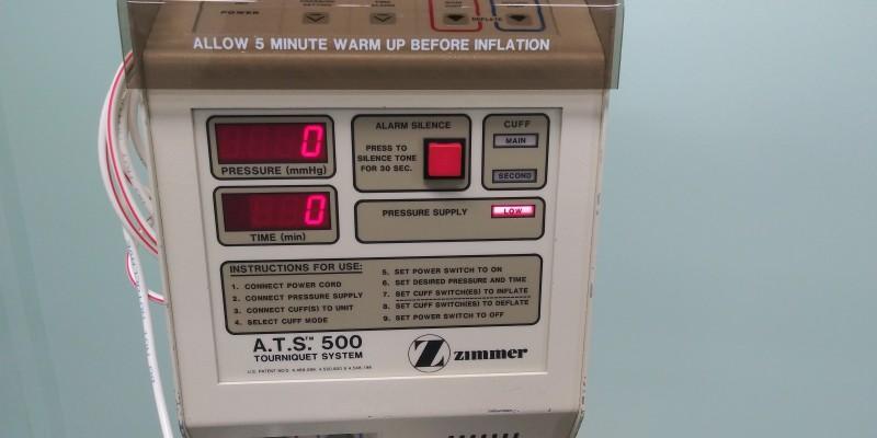 ZIMMER ATS 500 Tourniquet System