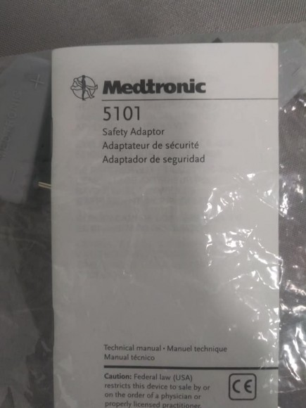 MEDTRONIC 5101 Safety Adaptors
