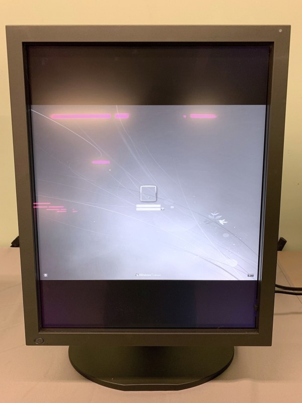 QTY. 2 - Totoku Monochrome LCD Monitor MDL2116A