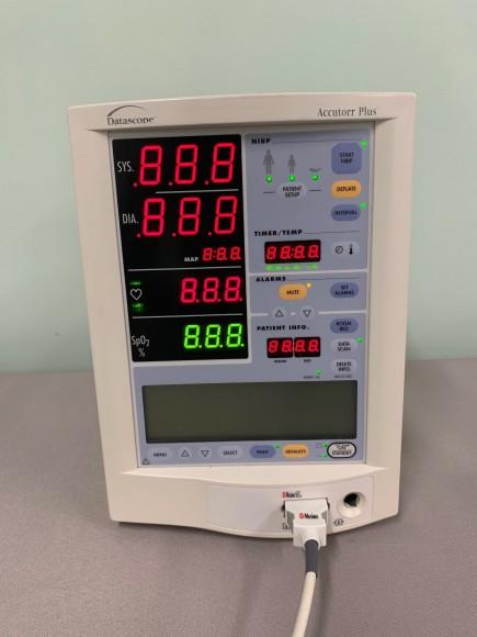 QTY: 2 - DATASCOPE Accutorr Plus BP Monitor