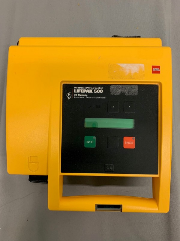 Medtronic Lifepak 500 Automated External Defibrillator