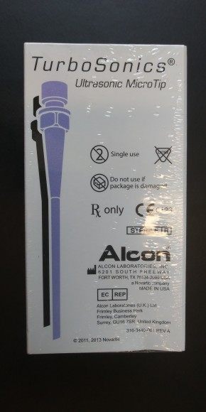 ALCON Turbosonics Ultrasonic Tapered ABS MicroTip Box of 6