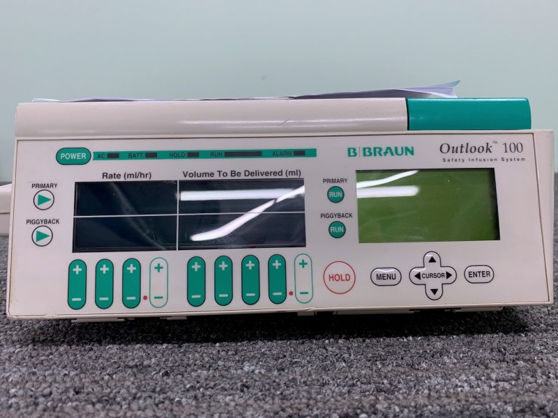 B. Braun Outlook 100 Safety Infusion System